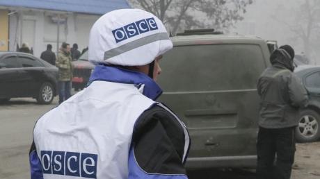 Украина, Донбасс, ОБСЕ, ООС, Боевики, Минские соглашения, Оса.