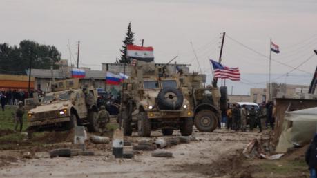 Появилось видео, как россияне помогают силам Асада в нападении на конвой США