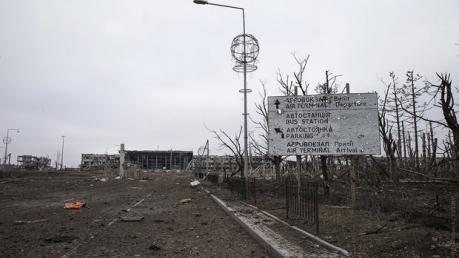 АТЦ: боевики 16 раз открывали огонь в районе донецкого аэропорта