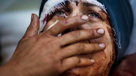 Итоги кровавой операции Путина в Сирии: авиаудары РФ убили около 1000 человек, в том числе 443 невинных ребенка - SNHR