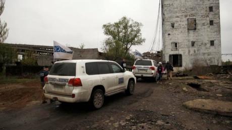 """Мониторинговая миссия ОБСЕ установила в Авдеевке и в районе шахты """"Октябрь"""" две камеры, работающие в круглосуточном режиме"""