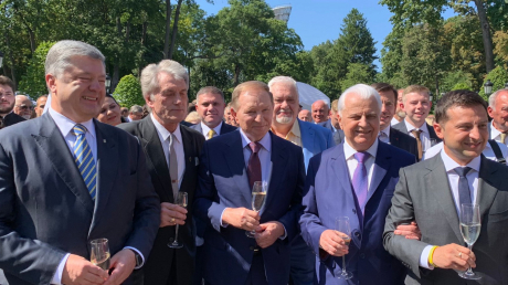 Зеленский, Порошенко, Янукович, Ющенко, Кучма, Кравчук.