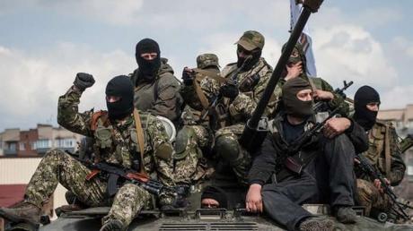 Российско-террористические войска испепеляют Чермалык и Красногоровку прицельным огнем из 122-мм артиллерии и минометов