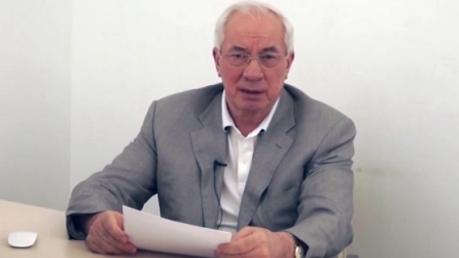 Азаров анонсировал свое громкое возвращение в Украину и назвал условия