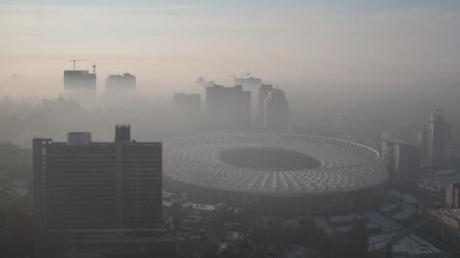 Киев задыхается: опубликованы замеры серы и пыли, которые превысили норму