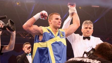 Бокс: украинец посвятил свою победу Скрябину