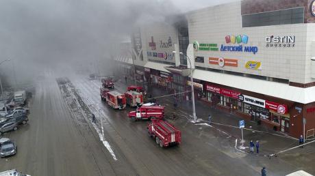 """""""Мы горим, прощайте..."""" - 35 человек пропали без вести во время пожара в Кемерово. Соцсети сообщают о 150 погибших - кадры"""