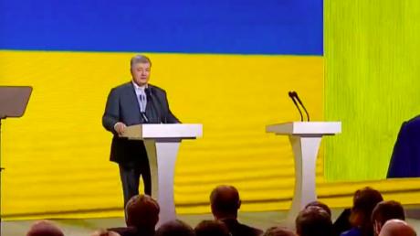 порошенко, зеленский, украина, выборы, скандал