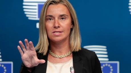 Могерини заявила, что ЕС поддержит Турцию в борьбе с терроризмом, заявив о том, что РКК – это террористическая организация