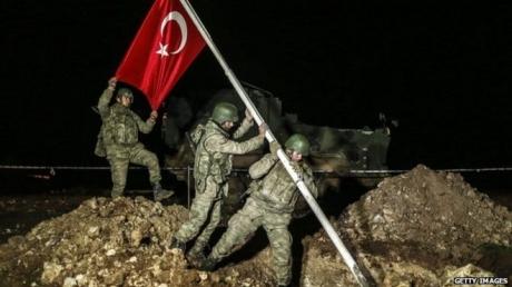 Турецкие войска эвакуировали национальную святыню из Сирии