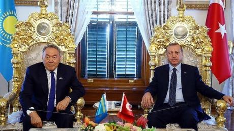 Официально: Эрдоган и Назарбаев опубликовали декларацию по исламскому сближению