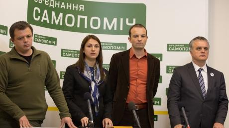 """""""Самопомич"""" вернется в коалицию после отставки Яценюка и Шокина - нардеп"""