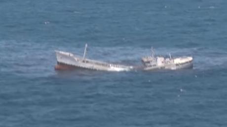 В Черном море турецкая подводная лодка пустила ко дну танкер - появилось впечатляющее видео