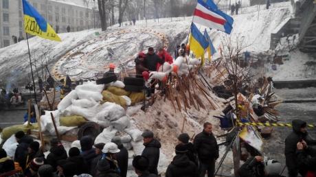 Сегодня годовщина с момента расстрела в Киеве на Евромайдане