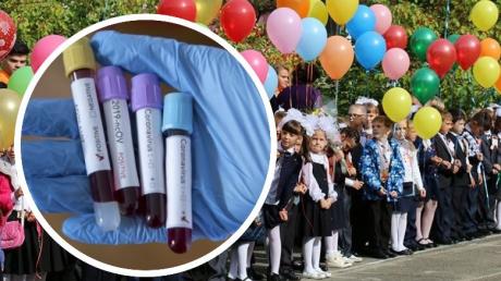 Стало известно, будут ли тестировать школьников на коронавирус перед 1 сентября