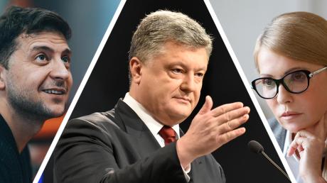 Кто пройдет во второй тур, если шансы Порошенко, Тимошенко и Зеленского равны: эксперт оспорил цену рейтингов