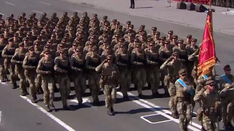 бирюков, парад, независимость, украина, порошенко, всу