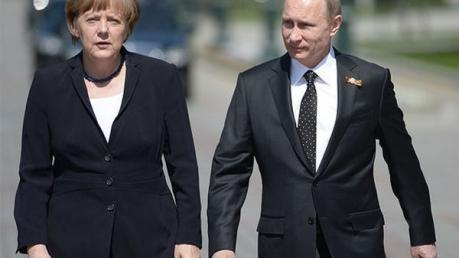 меркель, путин, встреча, украина, донбасс, война, миротворцы, оон, маас