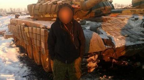 МВД: в Красном Луче задержан экипаж танка Т-72 ДНР