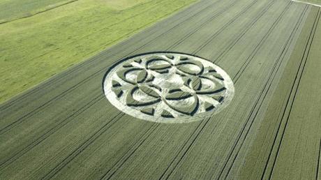 уфология, Швейцария, фермер, убыток, рисунок на поле, создания, происшествие, аномалия