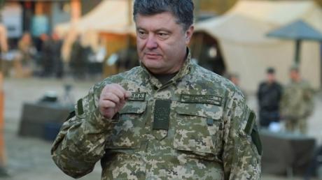 Порошенко: В Донбассе погибли 62 украинских пограничника
