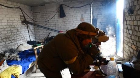 """Азов"": Враг бросил в атаку БМП, танки и пехоту"