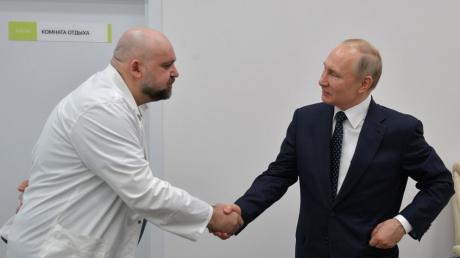 Россия, Путин, коронавирус, общество, врач, заражение, скандал, факты, детали