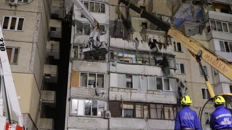 сюжет, взрыв, жилой дом, Позняки, квартиры, жалоба, трудности