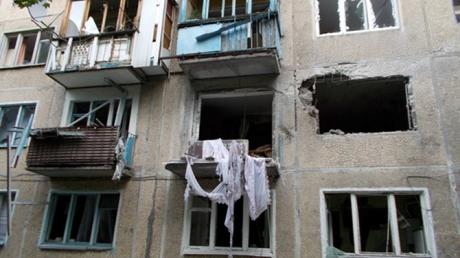 донецк, днр, юго-восток украины, происшествия, жилые дома, артобстрел, донбасс