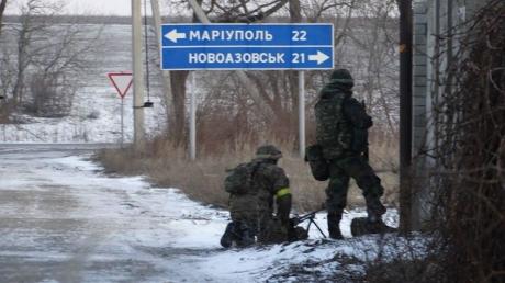 Семенченко: в Широкино под Мариуполем идет пехотный бой