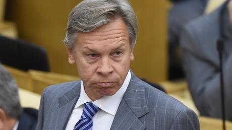"""""""Полный бред"""",  - сенатор Пушков злостно угрожает США объявлением войны в случае морской блокады РФ"""
