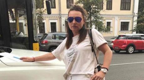 В центре Киева произошло ДТП с участием автомобиля Ирэны Кильчицкой