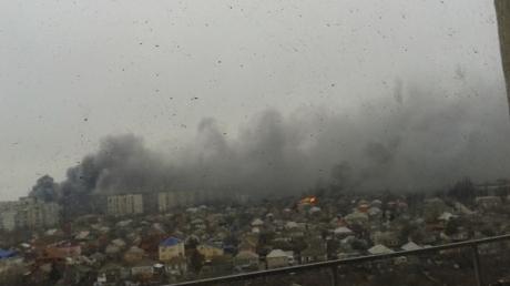 СМИ: Начался обстрел Мариуполя