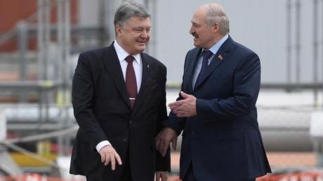 """Без скандала не обошлось: на встрече Порошенко и Лукашенко женщина попыталась оголить грудь и выкрикивала """"Жыве Беларусь!"""" - опубликованы кадры"""