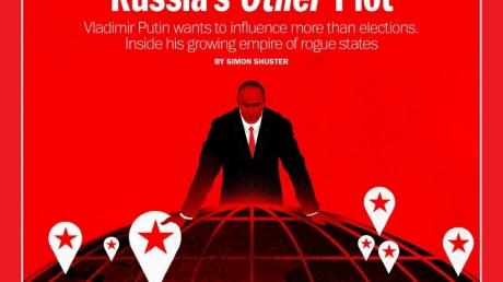 путин, россия, сша, скандал, венесуэла, сирия, африка, Time