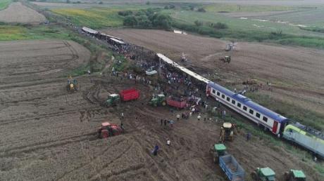 турция, фото, железная дорога, погибшие, раненые, видео, эрдоган, катастрофа, поезд