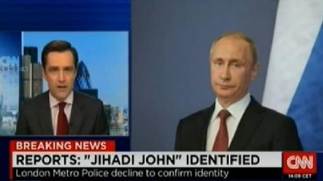 """CNN показало фотографию Путина как одного из боевиков """"Исламского государства"""""""
