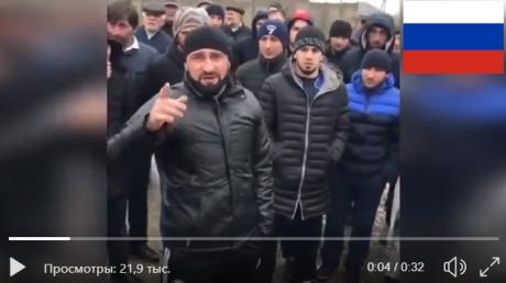 кавказ, рф, бунт, видео, скандал, новости назрани Дагестан