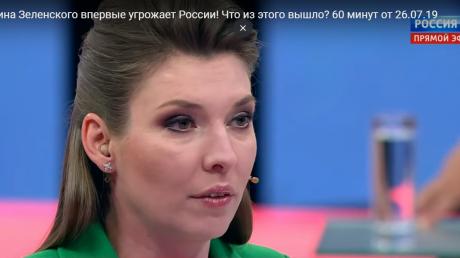 Россия, агрессия, Путин, политика, Украина, пропаганда, Скабеева, Зеленский