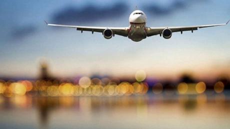 СМИ России: Самолет с флагом Украины приземлился в аэропорту Москвы