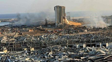 Взрыв в Бейруте: по данным Пентагона, это была атака и подрыв бомбы