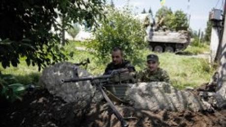 В районе Дебальцево продолжаются бои