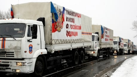 """МЧС РФ доставило в Донецк и Луганск около 1800 тонн """"гуманитарной"""" помощи"""