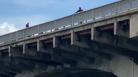 фото, минирование, мост, метро