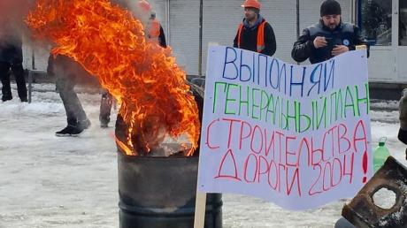В Харькове строят баррикады и жгут шины - ситуация накаляется