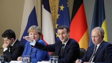 Источник узнал, по какой причине нормандский саммит могут отменить