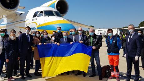 италия, украина, медицина, врачи, пандемия, коронавирус