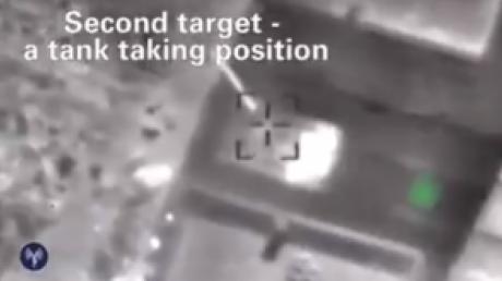 Израиль ошибок не прощает, танки Асада пылают синим пламенем! ЦАХАЛ нанес фантастический удар по Сирии, красиво уничтожив позиции правительственных войск - кадры