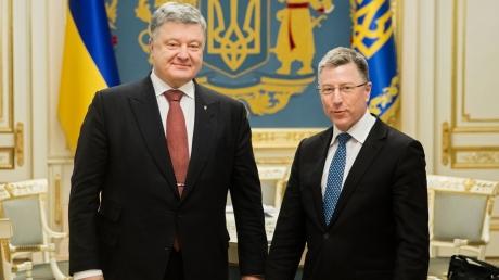 Волкер и Порошенко обсудили процесс деоккупации Донбасса