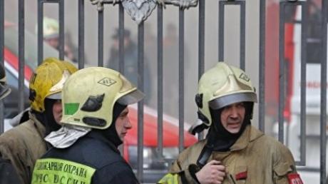 Пожар в здании минобороны РФ локализован: при тушении возгорания пострадал сотрудник МЧС
